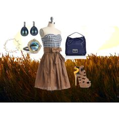 For Amber Waves of Grain, created by annmarie0697.polyvore.com  Part of my America the Beautiful collection