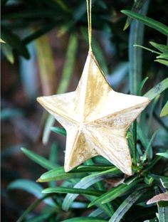 Ceramic Copper Star Ceramics Christmas Projects To Try - Diy copper stars for christmas decor