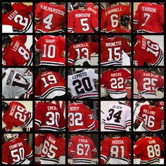 The Chicago Blackhawks Team :) Just cause they are going through a skid doesn't mean I won't support!