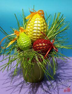 Horgolt tojástakaró minták 5. - Kreatív+Hobby Alkotóműhely Finger Crochet, Easter Crochet, Fruit, Crochet Edgings, Knitting And Crocheting, Tricot, Diy, Patterns, Finger Knitting