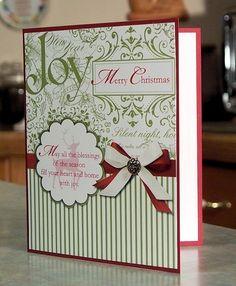 Handmade Christmas Card - Stampin Up WINTER POST