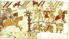 Bayeux Tapestry:story of William the Conqueror and the battle of Hastings:section49_51