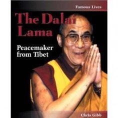 Diversify ELA- read biographies of great leaders and peacemakers like the Dalai Lama.