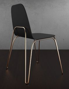 Products we like / Chair / Cooper Legs / frame / Black / Furniture Design / at IamAdreamer