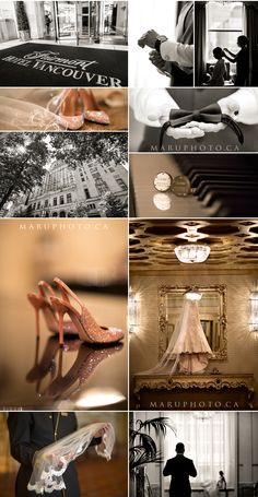 Weddings at The Fairmont Hotel Vancouver.
