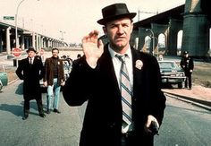 67d6c29acaf Gene Hackman wearing a pork pie hat in 1971 flick The French Connection.  The style was popularised by mods and revived by the the late movement -