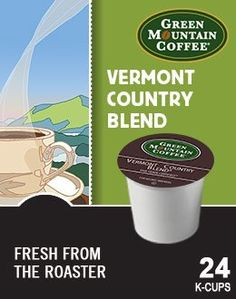 Green Mountain Coffee Fair Trade Vermont Country Blend KCup 96 count *** Learn more by visiting the image link.