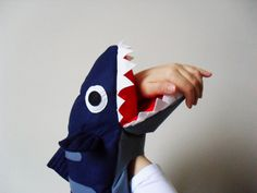 Shark Full Body Puppet. Fish Plush Toy Puppet. Sea Life Toys. on Etsy, $53.57