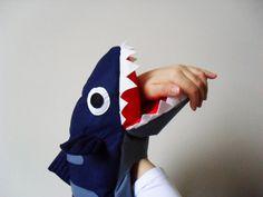 Shark Full Body Puppet. Fish Plush Toy Puppet. Sea Life Toys. on Etsy, $53.57