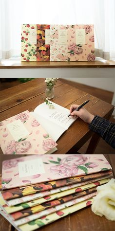 Journaling will be so much more fun with these beautiful Blossom Notebooks!
