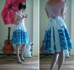 Full Skirt with Bow tutorial