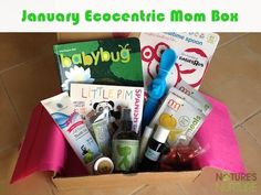 ecocentric mom box | January Ecocentric Mom Box Review