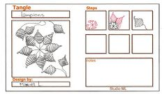 Studio ML: Tangle patterns 2011