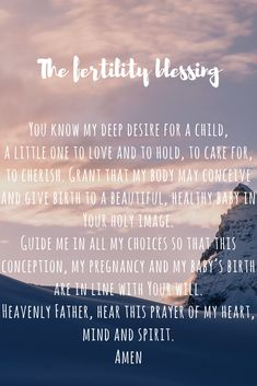 The Fertility Blessing Conceiving, Trying To Conceive, Fertility, Blessing, Pregnancy, Random, Blog, Life, Pregnancy Planning Resources