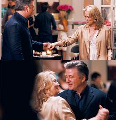 "Meryl Streep and Alec Baldwin in ""It's Complicated"""