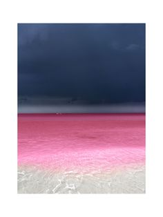 Think pink, beach. Pink Lake, Pink Beach, Ocean Cleanup, Light And Space, Source Of Inspiration, Travel Abroad, Beach Photos, Places To See, Something To Do