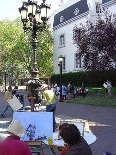 Concurso de Manchas. Evento anual en La Recova de Posadas. Buenos Aires.