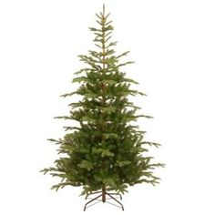 National Tree Company 7-1/2 ft. Feel Real Norwegian Spruce Hinged Artificial Christmas Tree PENG4-500-75 at The Home Depot - Mobile