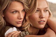 Karlie Kloss e Taylor Swift  para Vogue de março <3 <3 <3 <3  instagram : http://instagram.com/karliekloss/ instagram : http://instagram.com/TaylorSwift
