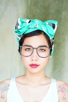 A personal favorite from my Etsy shop https://www.etsy.com/listing/473897997/vintage-eyeglass-1990s-wire-rim-by