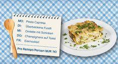 """Eine """"kulinarische Reise"""" - Heute stellen wir Euch eine abwechslungsreiche Woche vor. Wir machen eine """"kulinarische Reise"""" durch Italien, Frankreich und Österreich und das um 5€! Wir haben für jeden Wochentag ein cleveres Rezept für Euch, das richtig Lust aufs nachkochen und genießen macht! - Mehr Infos findet Ihr unter: http://www.cleverleben.at/clever-magazin/post/2012/04/26/eine-kulinarische-reise.html"""