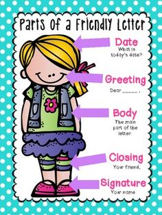 FRIENDLY LETTER WRITING {EVERYTHING YOU NEED!} - TeachersPayTeachers.com