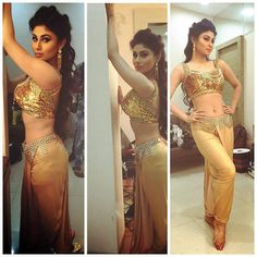 Mouni Roy shared this photo of hers looking every bit the seductive Naagin that she appears as on TV in the eponymous show. #Bollywood #Fashion #Style #Beauty #Hot #Sexy #Instagram