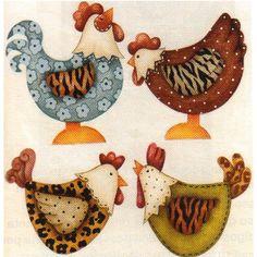 Auto adesivo galinha PROMOÇÃO