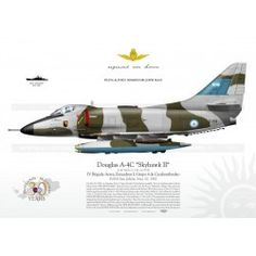 "A-4C ""Skyhawk II"" C-318 Argentina JP-369 Air Fighter, Fighter Jets, Harley Davidson Online Store, Swedish Air Force, Pilot, Falklands War, Paint Schemes, Wwii, Aviation"