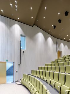 Auditorium AZ Groeninge - Dehullu Architects Photography by Dennis De Smet