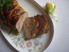 Faszerowany udziec z indyka Meatloaf, Pork, Diet, Kale Stir Fry, Pork Chops
