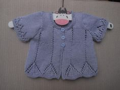 (6) Name: 'Knitting : Baby Vivienne - in 6 sizes