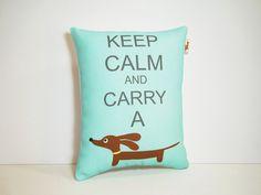 Dachshund Wiener Dog Pillow