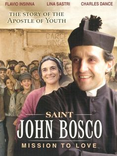 This movie shows the many challenges that Don Bosco faced and overcame from this childhood through founding his religious order, the Salesians, in order to educate boys. Growing up without a father gave him compassion for the many orphans that he cared for, while he faced persecution from both secular society and the Church as he fought to build a place to house and educate the homeless, outcast youth of Turin. (http://store.casamaria.org/st-john-bosco-mission-to-love-dvd/)