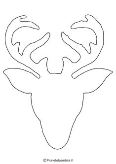 Paper Flowers Craft, Flower Crafts, Paper Crafts, Christmas Candle Decorations, Xmas Ornaments, Deer Silhouette Printable, Free Kids Coloring Pages, Baby Clip Art, Christmas Templates
