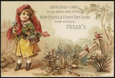 Spring - 1881. Over $250,000 stock, new staple & fancy dry goods now in sale. Frear's. [front] | Flickr - Photo Sharing!