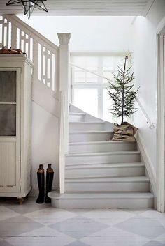 Viendo las imágenes de esta bonita casa situada en Sueciasiento que ya se acerca la Navidad ... y la verdad es que me encanta, no me gusta el frío pero sí la época navideña, con sus luces y el cie...