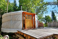 yurt to rent in Lac-Beauport, Canada