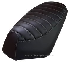 Add some comfort to your Genuine Roughhouse seat with our hand tailored premium seat cover.  We can make it any way you like, choose your thread, different color. Standard and Low Profile seats.   Handmade in our studio in Pennsylvania