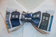 Doctor Who Tardis Bow Tie