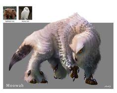 ArtStation - Random Creature Mashup Project #031 - Moowah, Midhat Kapetanovic
