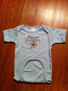 Newborn infant boy gown. I'll be your by SewSewCollectibles, $14.99