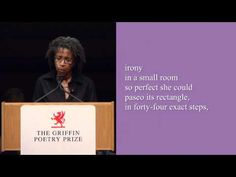 """Poet Dionne Brand reads the poem """"ossuary VIII"""" from Ossuaries, winner of the 2011 Canadian Griffin Poetry Prize."""