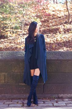 Find where to buy cheap over the knee boots under $100 in my style guide.   Winter Fashion | Winter Outfits | OTK Boots | Style Tips