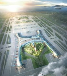 Incheon Airport Competition by Gensler