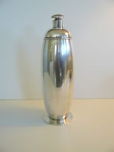 ART-DECO-ROGERS-SILVER-PLATE-ARCADIA-PATTERN-COCKTAIL-SHAKER-PATENTED-1927