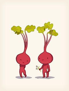 Vegetable Valentine - Anneka Tran