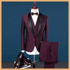 MarKyi 2017 new brand patched collar groom tuxedos wedding suits plus size s-4xl men prom suit blazers slim fit 3 piece