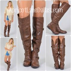 THE RILEY BOOT - BROWN, $55.00