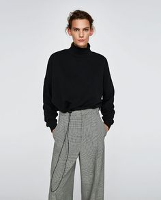 Image 2 of SWEATSHIRT WITH ADJUSTABLE HEM from Zara